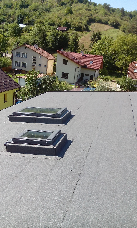 RD Tr. Teplá strecha + strešné okná